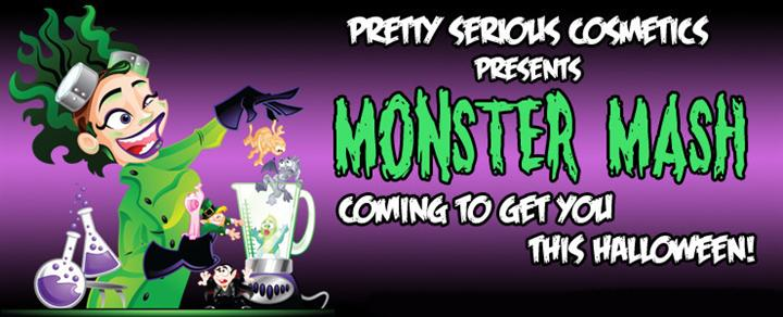 Monster Mash Nail Polish Collection by Pretty Serious Cosmetics.