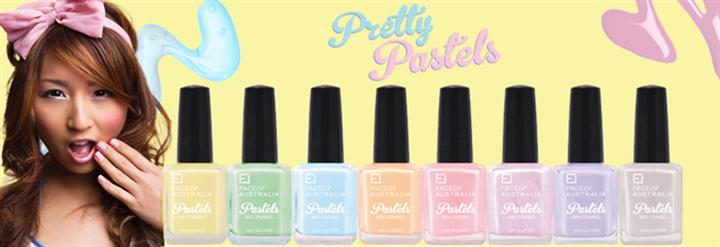 Face of Australia Pretty Pastels Nail Polish