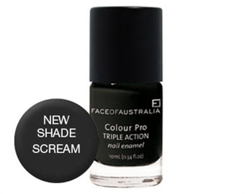 Face of Australia Colour Pro Nail Polish (Scream)