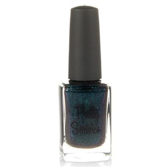 Blackened Teal Nail Polish (Tux) with Purple Duo-chrome