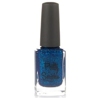 Blue Nail Polish (BSOD) with Blue Glitter