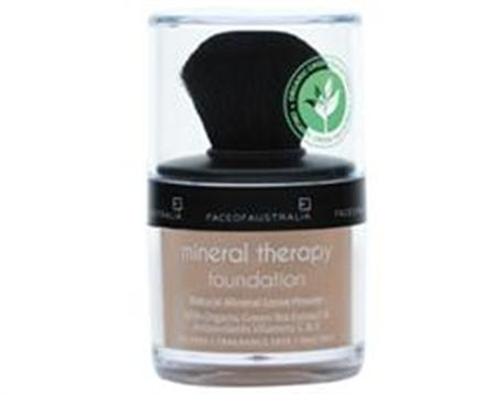 Face of Australia Mineral Therapy Powder Foundation (Natural Tan)