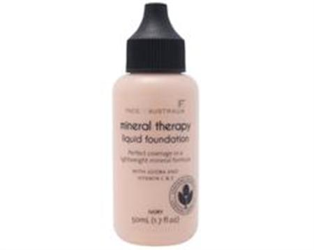 Face of Australia Mineral Therapy Liquid Foundation (Honey)