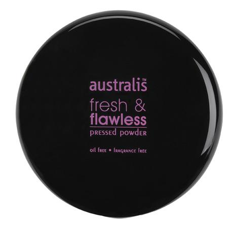 Australis Fresh & Flawless Pressed Powder (Deep Natural)
