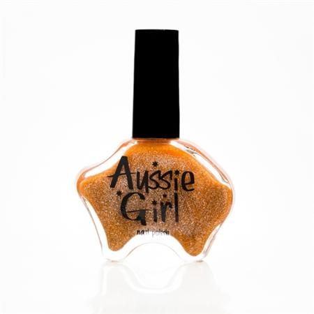 Aussie Girl Nail Polish (Gold Rush)