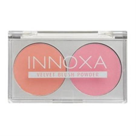 Innoxa Blush Duo - Rose And Berry