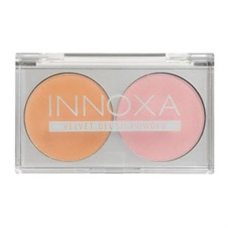 Innoxa Blush Duo - Peach And Rosy