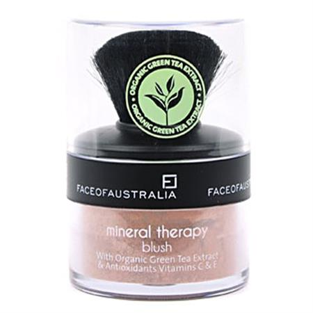 Face Of Australia Mineral Therapy Blush (Coral Delight)