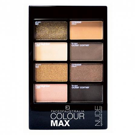 Face of Australia Colour Max Eyeshadow Palette Nude
