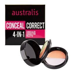 Australis 4-in-1 Concealer and Corrector Palette