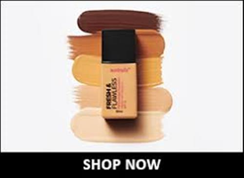 Australis Fresh & Flawless Full Coverage Foundation - Cashmere