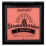 Australis Strawberries & Dreams Scented Blush - Peaches and Cream