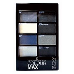 Face of Australia Colour Max Eyeshadow Palette Smoky