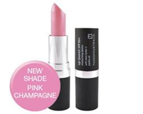 Face of Australia Lip Quench Lipstick (Pink Champagne)