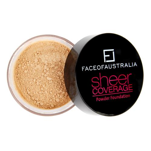Face Of Australia-Sheer Coverage Powder-Beige